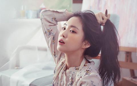 韩国女团APINK孙娜恩邻家女孩唯美写真