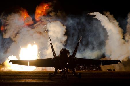 战斗机,大黄蜂,f-18c,大黄蜂