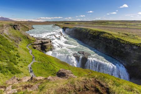 瀑布,水景,性质