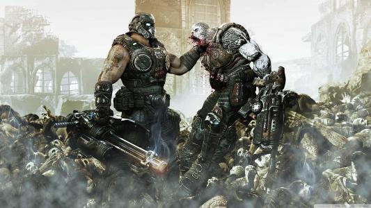 游戏,战争机制3,蝗虫,战争的齿轮