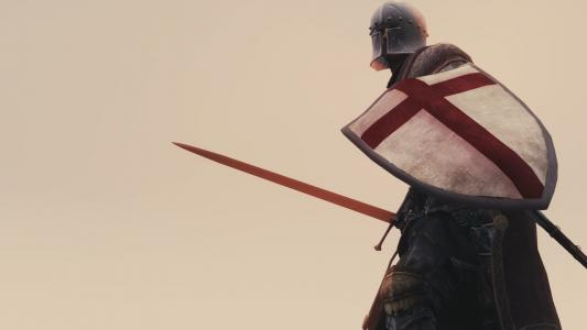 战士,盔甲,头盔,盾牌,剑,背景