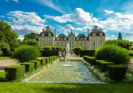 法国,城堡,世界城堡,法国城堡,美丽