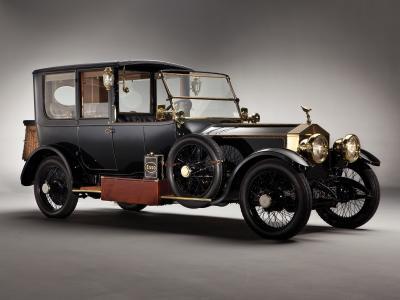 劳斯莱斯,银,鬼,1915年,汽车,复古