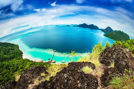 马来西亚杜郎岛,自然,美丽