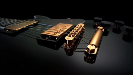 吉他,音乐,弦乐,美女