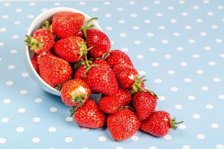鲜嫩的草莓