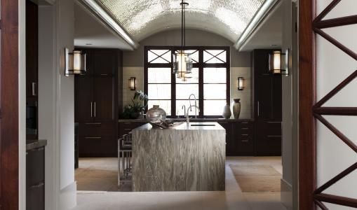 内政,风格,厨房,别墅,房子,设计,房间