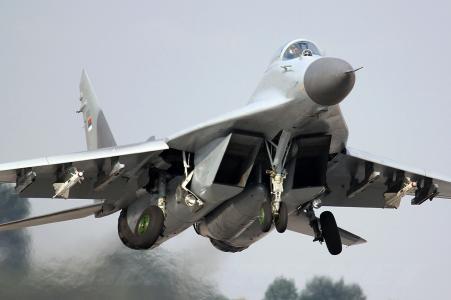 战斗机,米格-29,飞机,起飞