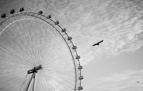 摩天轮,伦敦,伦敦,伦敦眼,伦敦眼