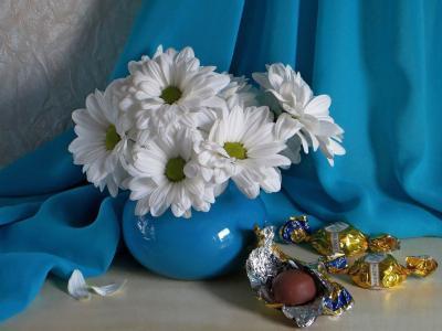 面料,花瓶,鲜花,菊花,糖果,糖果包装
