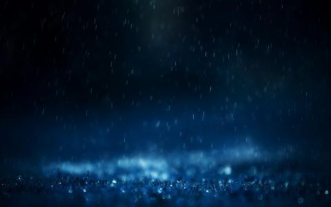 宏,雨,雨,滴,滴,水,喷雾,照片,草,心情,心情