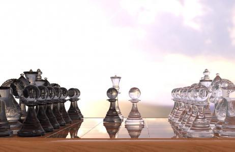 象棋,数字,董事会,图,党