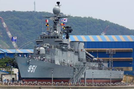 船,博物馆,蔚山,韩国