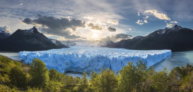 阿根廷,巴塔哥尼亚,冰川,佩里托莫雷诺,安德烈查布罗夫
