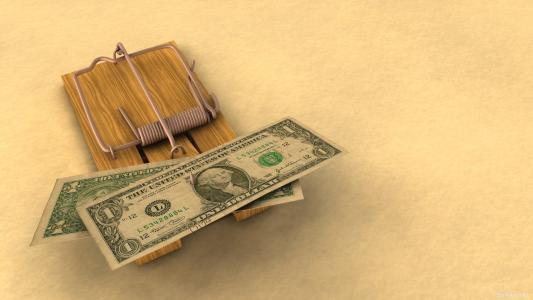捕鼠器,雄鹿,钱