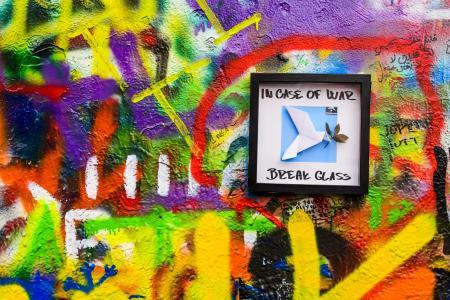 涂鸦,蓝色,绿色,城市,绘画,墙,艺术,世界,鸽子,科,颜色,颜色,鸟