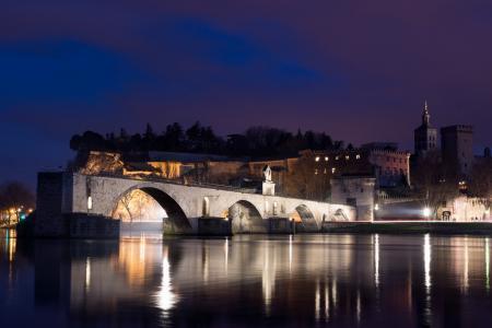 法国,阿维尼翁,桥,圣贝尼斯桥