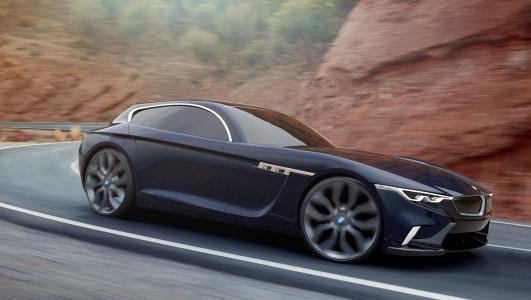 汽车,宝马Z3  -  Coupe,设计Esa Mustonen,道路,山脉