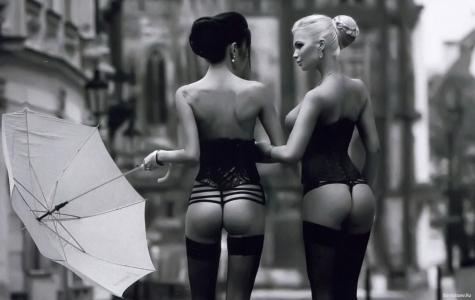女孩,内衣