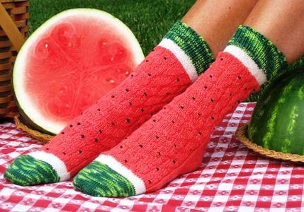 西瓜,西瓜袜,有趣的模仿,壮观