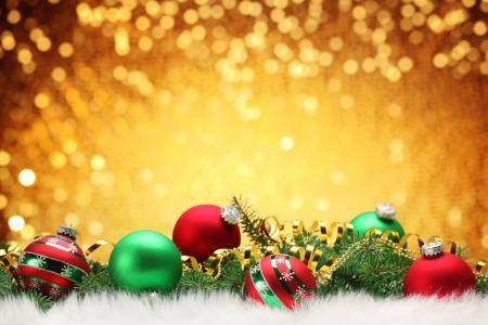 球,圣诞树装饰,毛皮,树,分支机构