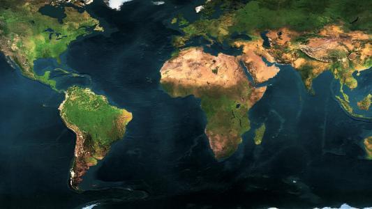 地理,世界地图,地理,大洲