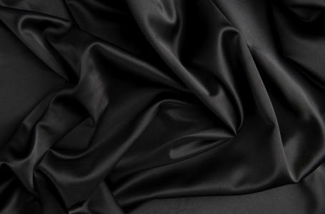 黑色,布,丝绸,质地,缎面,褶皱