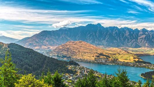新西兰皇后镇唯美风景