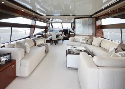 设计,豪华,游艇,轿车,室内,风格
