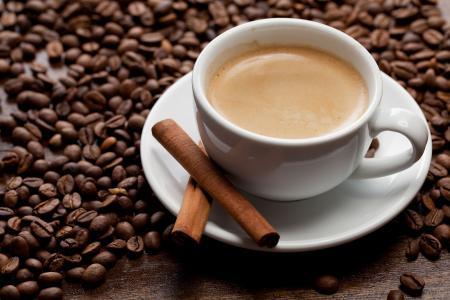 咖啡,肉桂,飞碟,杯,泡沫,粮食,喝
