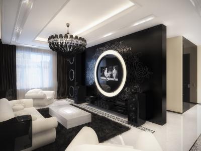 扬声器,电视,沙发,客厅,扶手椅