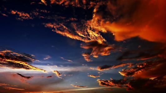 天空,云彩