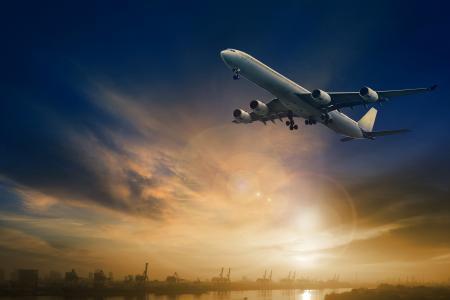 飞机,客运,飞机,天空,航空