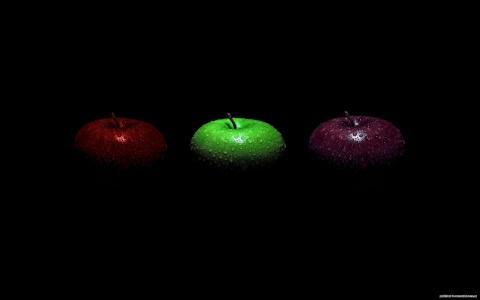 苹果,三个