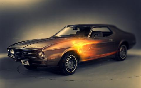 1972年,福特野马,汽车