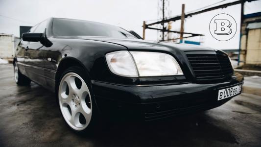 奔驰,W140,野猪,卢布,S级,Brabus