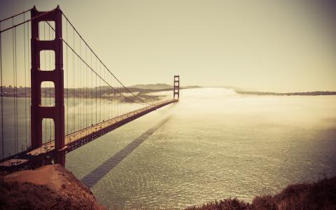 海,桥,水,国家,海洋,城市,地方