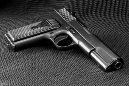 枪,武器,灰色的背景