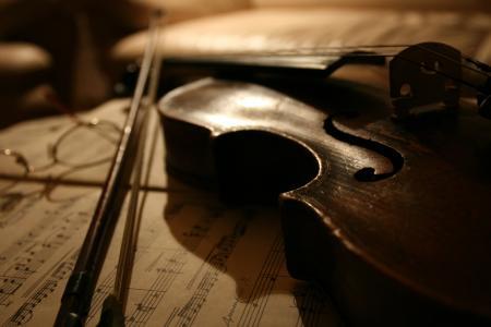 小提琴,音乐,笔记
