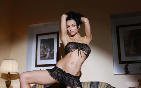 黑发,乳房,性感,美丽,漂亮,stronaya,可爱,乳房,内衣,胸罩,透明,微妙,腰,腿,大腿。