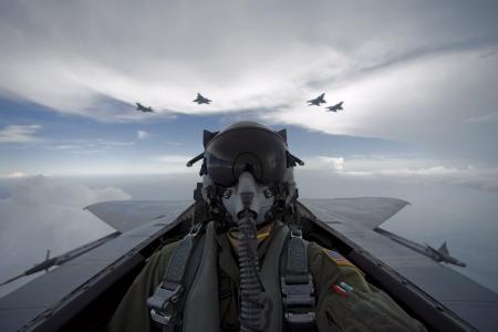 飞机,天空,飞行员