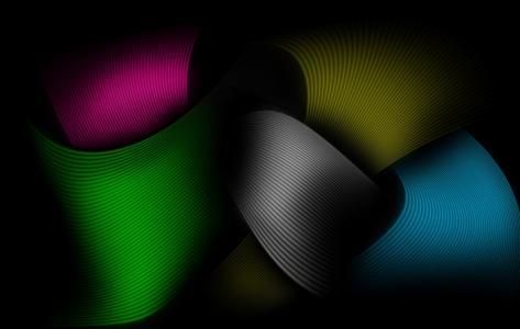 线,颜色,磁带