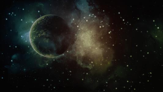 星系,空间,星球,星星