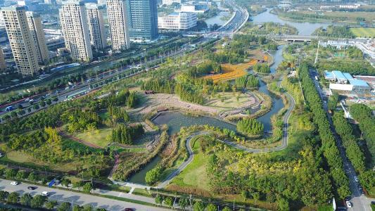 宁波市东部新城生态走廊
