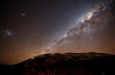夜空,星星,星系,银河系,银河系