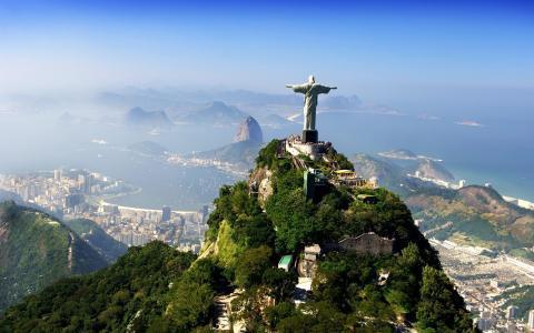 雕像,基督救世主,里约热内卢