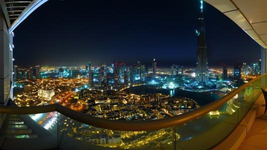 城市,迪拜,阿联酋