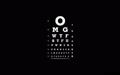 黑色,白色,不同的字体,视觉,字母