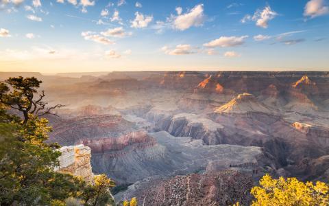 峡谷,大自然,岩石