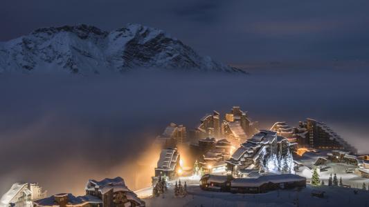自然,山,法国,阿尔卑斯山,美丽,冬季度假胜地,冬天,雪